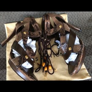 Authentic LOUIS VUITTON Limited Ed. High Heels